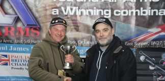 Dave Tommo winning the Sillis